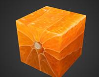 Texturing Exercise Box Orange