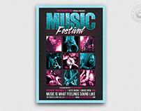 Music Festival Flyer Template V4
