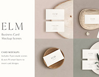 Business Card Mockup Kit