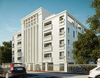 Visualization : Apartment Building