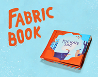 The Fluffy Zoo / Fabric book for kids