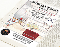 Interior design || Advertisement