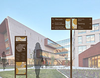 Cohen Entertainment District - Branding and Wayfinding