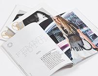 Louis Vuitton Magazine | Custom Typefaces