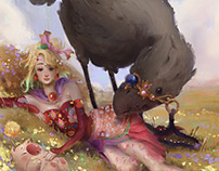 Terra Brandford for KKG Artbook