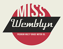Miss Wemblyn Motor Oil