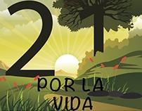 21 árboles