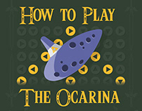 Info Graphics Project - How to play the Ocarina - Zelda