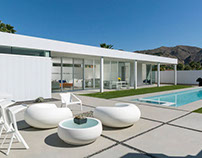 Palm Springs Residence by Lineoffice Architecture