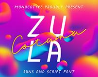Zula Cotana Duo Fonts