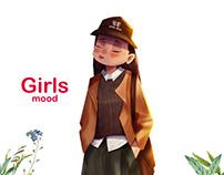 Girl's Mood Character design Vol 1