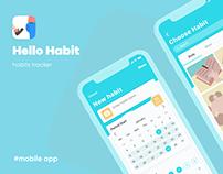 Hello Habit tracker app | Трекер привычек
