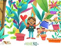 Vivero ·Illustration·