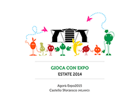 Visual design for Expo2015 - Maps