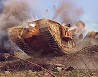 """Cambrai: Dawn of the Tank Age"" - History of War Magazi"