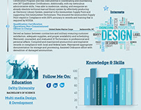 Info-graphic Resume