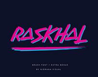 Raskhal Font
