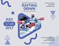 Rafting | Modern and Creative Templates Suite