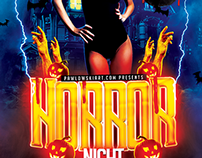 Horror Night Party - Halloween Flyer Template