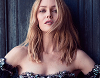 "Vanessa Paradis for ""Sorbet"" Magazine"