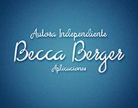Becca Berger/Autora Independiente