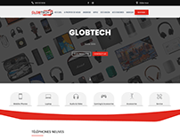Globtech E-commerce Website