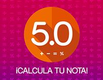 ¡CALCULA TU NOTA!
