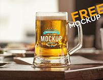 Beer Cup v2 – Free PSD Mockup