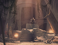 Lost Boys Cave in Adobe Dimension