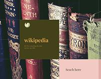 Wikipedia Redesign