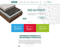 Website - presentation   waterproof geomembrane Izolit