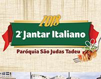 2º Jantar Italiano 2018