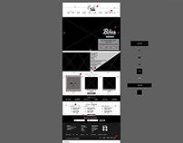 Wireframe for a Retail Website
