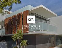 Branding y diseño web para ¨Carlos Valls¨