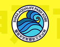 Suma Aqualife Park KOBE | Visual identity