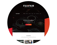 Fujifilm Website Redesign