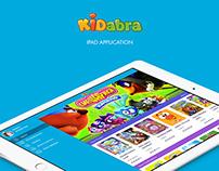 Kidabra iPad app