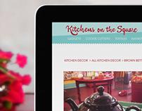 Kitchens On The Square Website Design