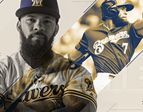 2017 Brewers Social Graphics