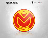 Monarcas Morelia | logo redesign