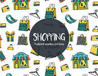 Shopping Vector Seamless Free Pattern