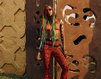 Afrochella 19 Street Style for Teen Vogue