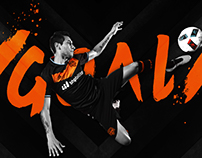 Houston Dynamo #PaintItBlack Celebrations