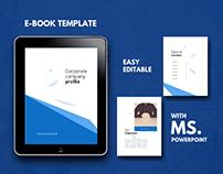 Corporate ebook design templates