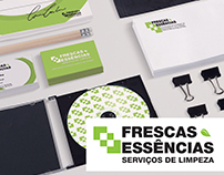 Frescas Essências - Rebranding
