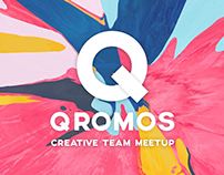 Qromos Logo Design
