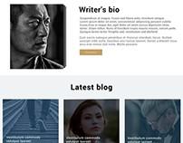 Blog champ Layout Design