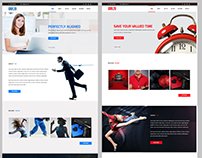 Klean - Adobe Muse Template