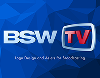 BSW Logo Design and Assets for Broadcasting