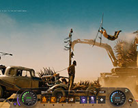 Mad Max in-game HUD